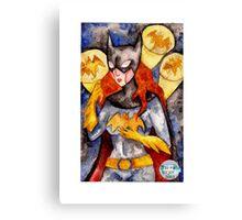Gotham Babe : B Canvas Print