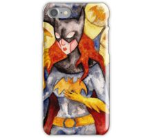 Gotham Babe : B iPhone Case/Skin