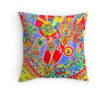 traffic rules Throw Pillow