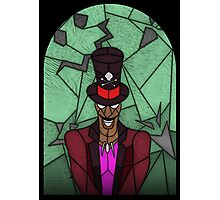 Voodoo Doctor - stained glass villains Photographic Print