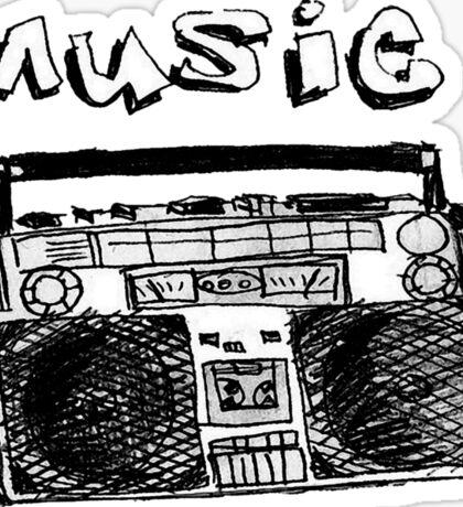 Dgz Music Sticker