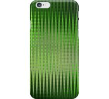 Green Copper Zag iPhone Case/Skin