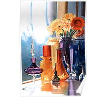 """""""Jewels of the Czar"""" Art Glass Watercolor Poster"""