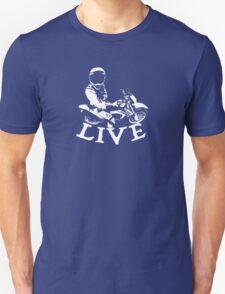 Motocross T Shirt White Unisex T-Shirt