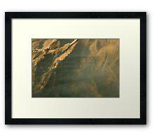 Beneath the surface V Framed Print