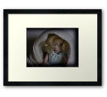 Doll Portrait 083 Framed Print