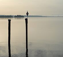 lake of constance morning mood by Manfred Bruttel