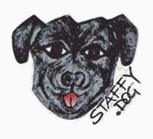 Staffy Dogs Fun Face Kids Clothes