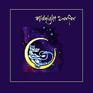 Midnight Surfer Scarf by Patricia Howitt