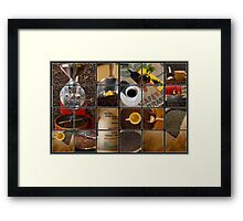 coffee impressions Framed Print