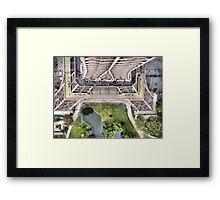 Vue de la Tour Eiffel II Framed Print