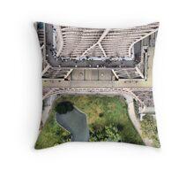 Vue de la Tour Eiffel II Throw Pillow