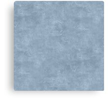 Dusty Blue Oil Pastel Color Accent Canvas Print