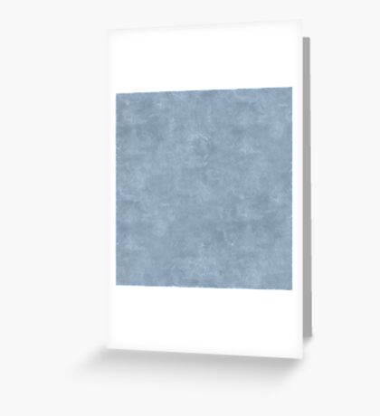 Dusty Blue Oil Pastel Color Accent Greeting Card