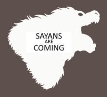 sayans are coming by pixing