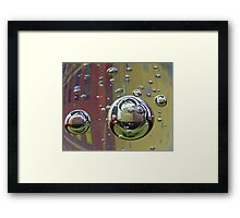 Bubble Lofts Framed Print