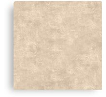 Frosted Almond Oil Pastel Color Accent Canvas Print