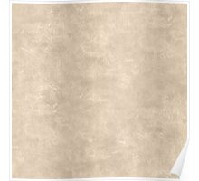 Frosted Almond Oil Pastel Color Accent Poster