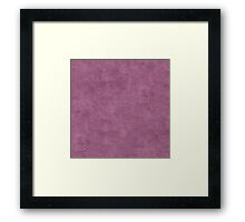 Grape Nectar Oil Pastel Color Accent Framed Print