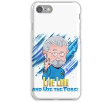 Live Long and Use the Force iPhone Case/Skin