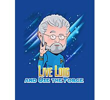 Live Long and Use the Force Photographic Print