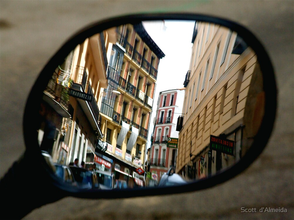 REFLECTING ON MADRID by Scott  d'Almeida