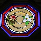 Trillium Window by Karen K Smith
