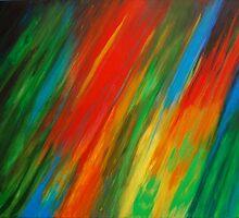 Evolution of colour by Lynn Hughes