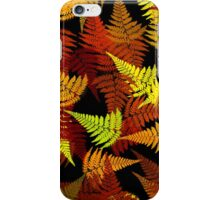 Abstract Fern Leaf Pattern iPhone Case/Skin