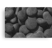 River Stones Canvas Print