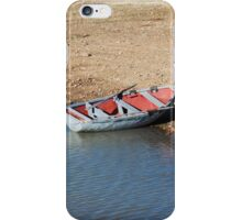 Rowing Boat in Africa iPhone Case/Skin