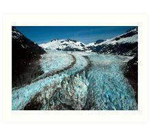 Herbert Glacier Art Print