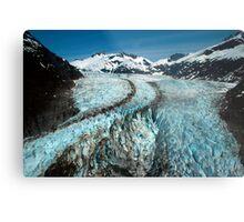 Herbert Glacier Metal Print
