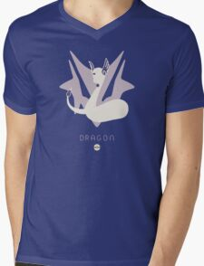 Pokemon Type - Dragon Mens V-Neck T-Shirt