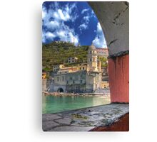 Vernazza - Through an Arch Canvas Print
