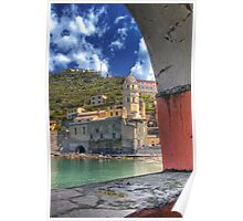 Vernazza - Through an Arch Poster