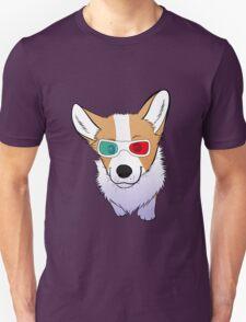 3D corgi T-Shirt