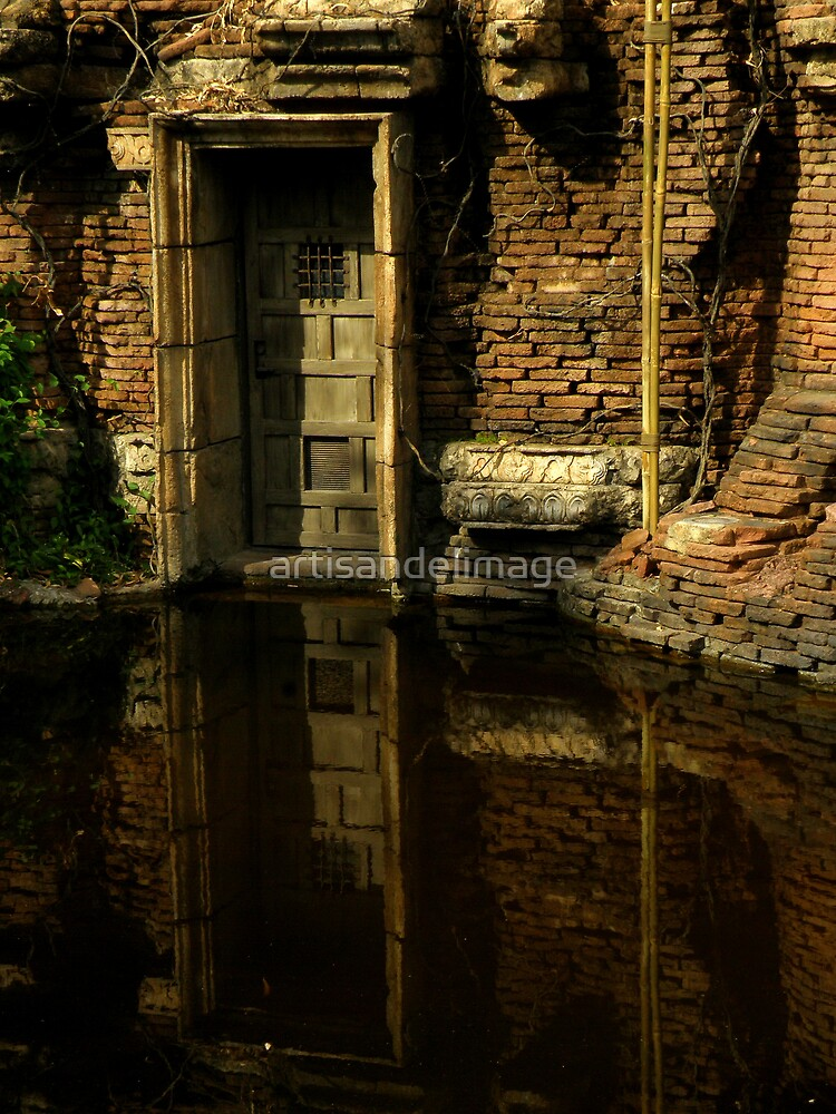 Flooded Temple by artisandelimage