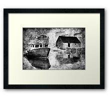 Harbour Mist Framed Print