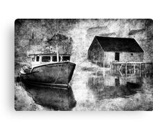 Harbour Mist Canvas Print