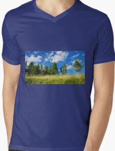 Trees with Cumulus Fractus  Mens V-Neck T-Shirt