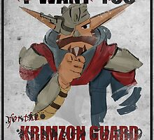 Join the Krimzon Gaurd by TheQuirkyFace