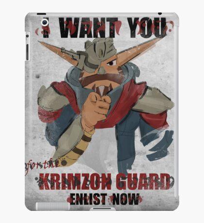 Join the Krimzon Gaurd iPad Case/Skin
