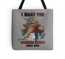 Join the Krimzon Gaurd Tote Bag
