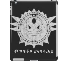 The Barron's order (white) iPad Case/Skin