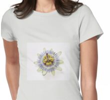 Isolated Bluecrown Passiflora Womens Fitted T-Shirt