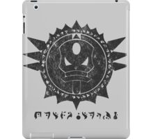 The Barron's order (black) iPad Case/Skin
