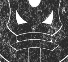 The Barron's order (black) Sticker