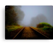 Forgotten Track Canvas Print