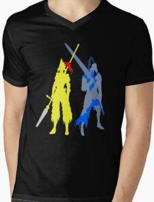 Artorias And Ornstein Mens V-Neck T-Shirt